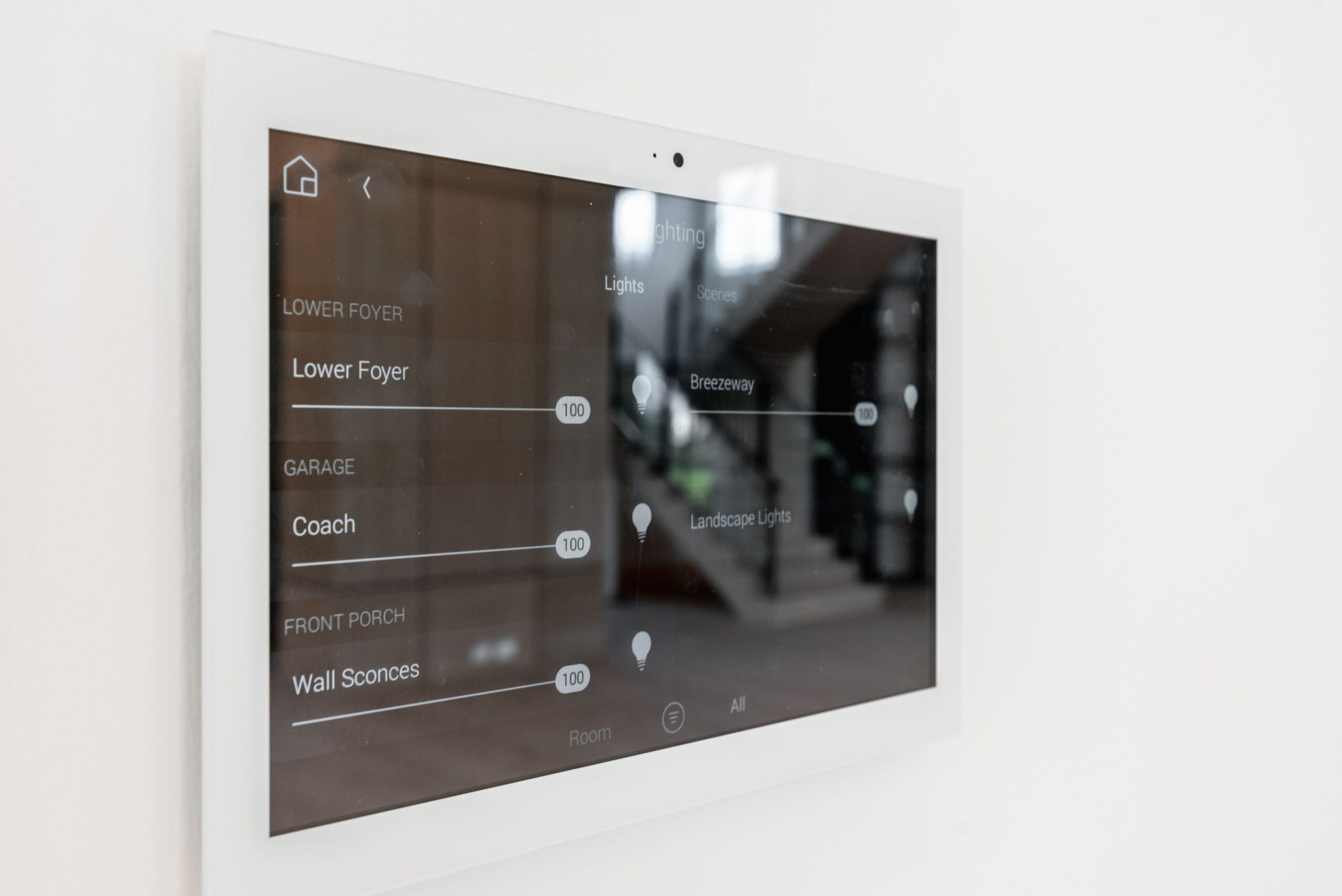 Home Automation Touchscreen