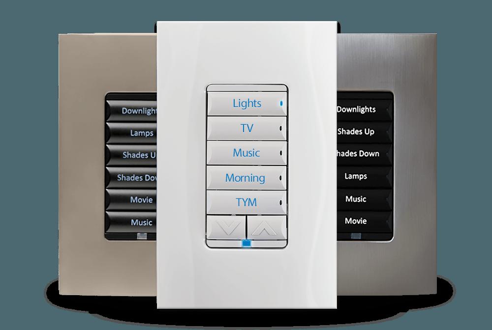 Automated Lighting Keypad
