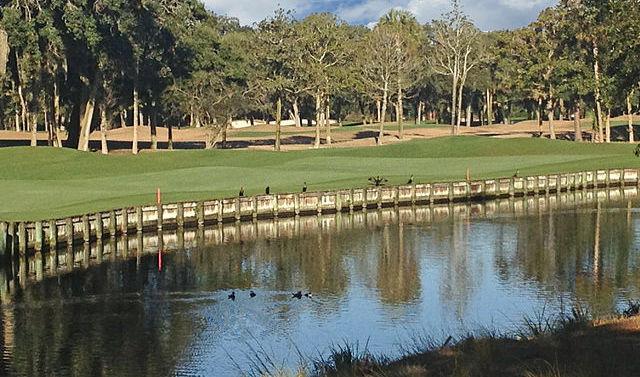 golf course on Kiawah Island SC